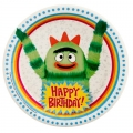 Yo Gabba Gabba Party Dessert Plates (8)